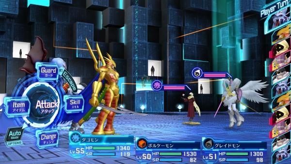 Digimon Story Hacker's Memory | Battle