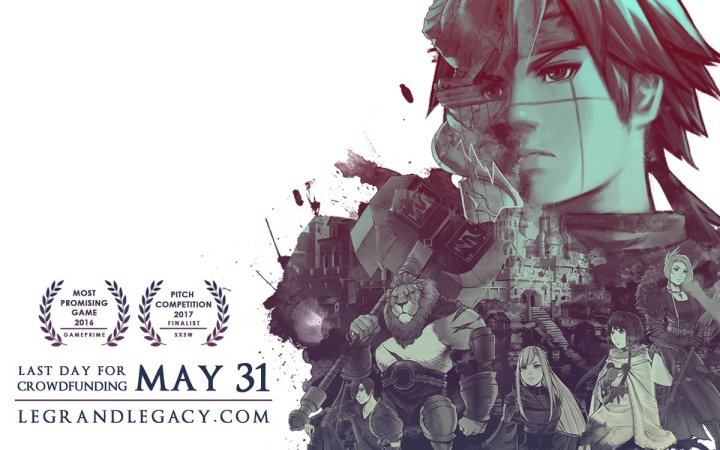Legrand Legacy | Last crowdfunding day