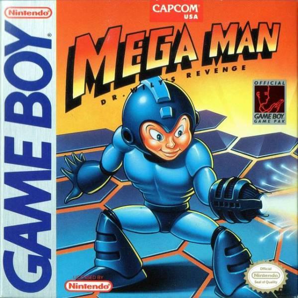 Mega Man Dr Wily's Revenge | Cover Art