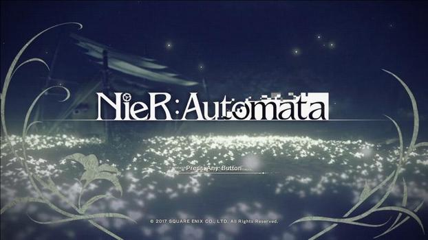 NieR Automata | title screen