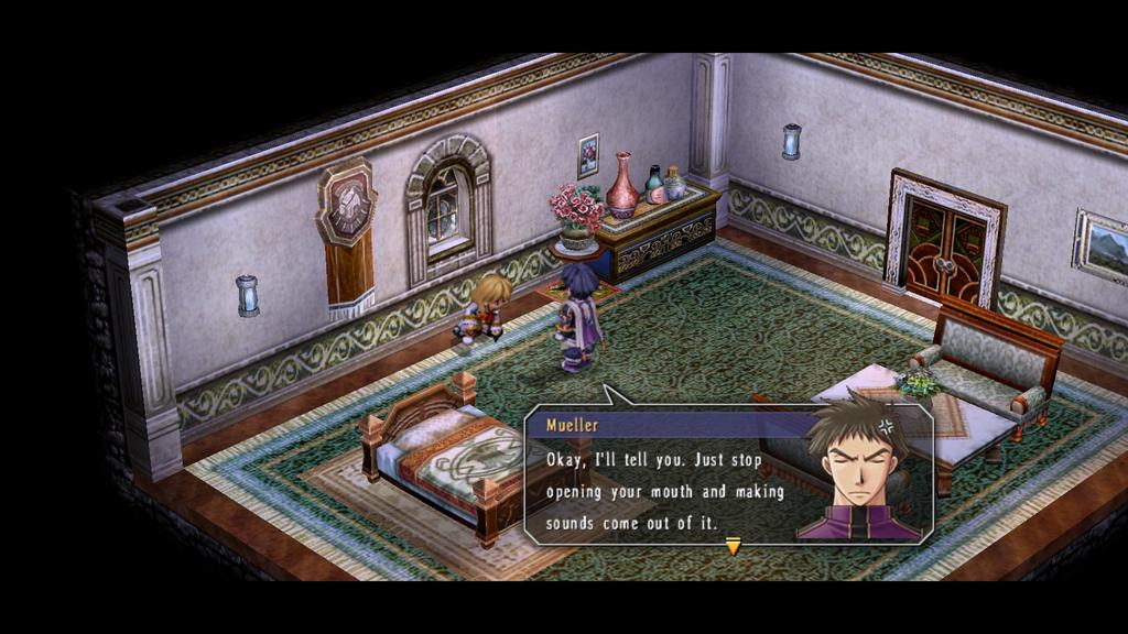 Trails in the Sky   stop opening your mouth