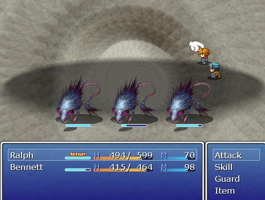 Final Quest | Battle Scene