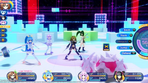 Superdimension Neptune VS Sega Hard Girls | Battle