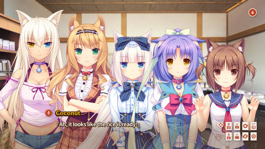 Nekopara Vol.0 | Rice is ready