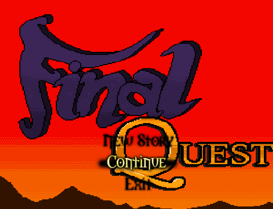 Final Quest | Title Screen