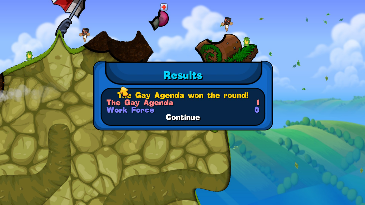 Worms Reloaded   The Gay Agenda Won the Round