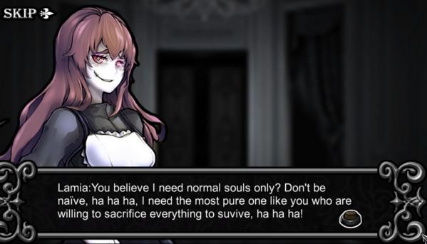 Lamia's Game Room | sacrifice