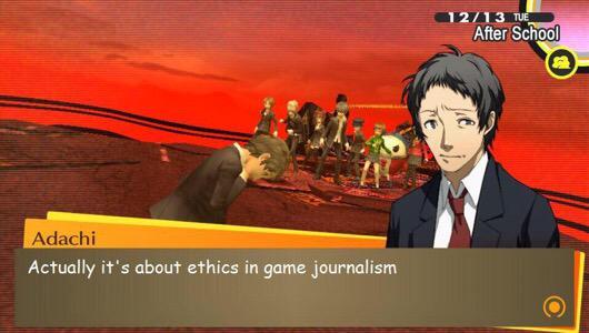 Persona 4 | Ethics