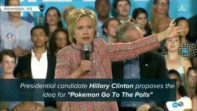 Pokemon Go to the Polls