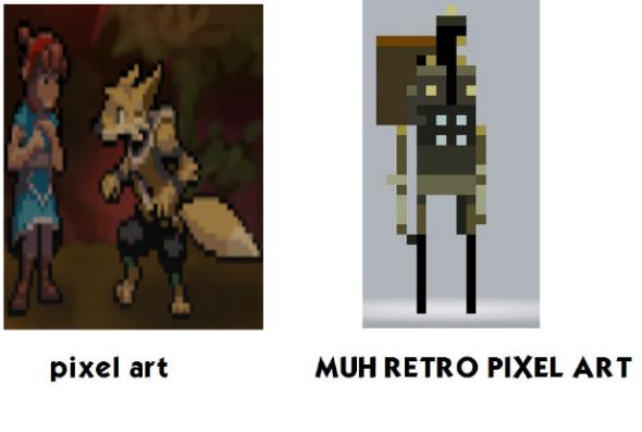 The Tenth Line   Muh Retro Pixel Art