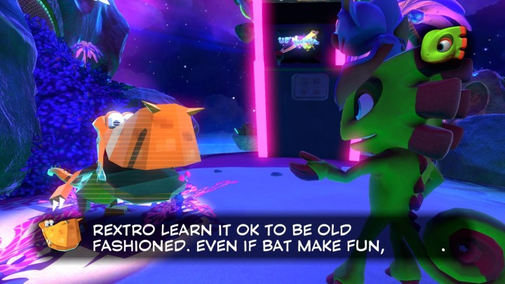 Yooka-Laylee | old fashioned
