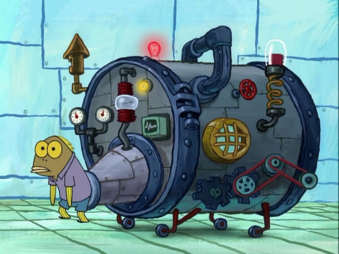 Spongebob | Iron butt