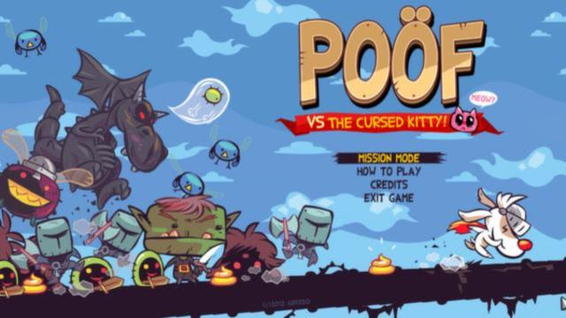 Poof VS the Cursed Kitty   title screen