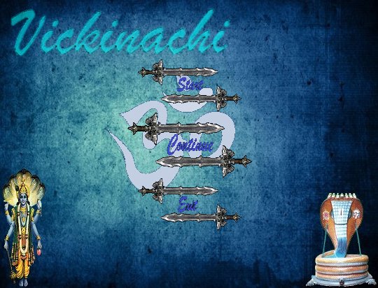 Vickinachi | Title Screen