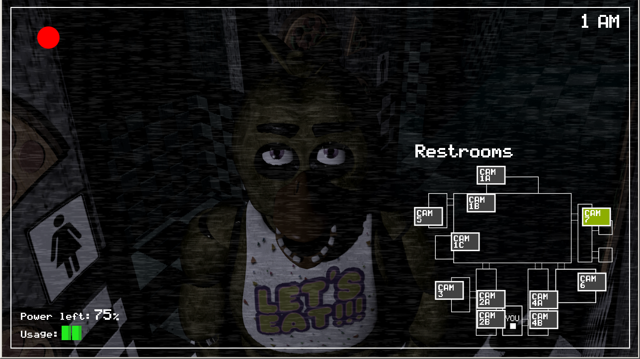Five Nights at Freddy's | Restroom