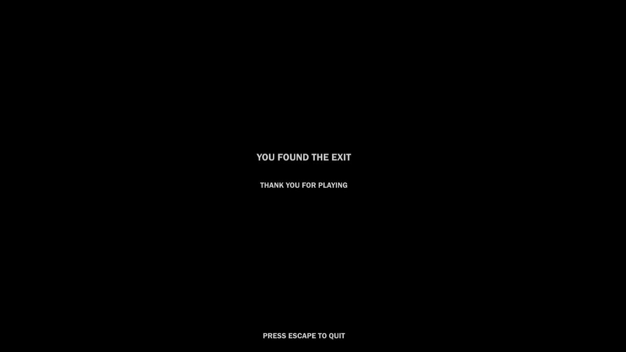 Blackshadows | you found the exit