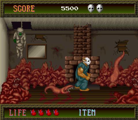Splatterhouse   Bore Worms