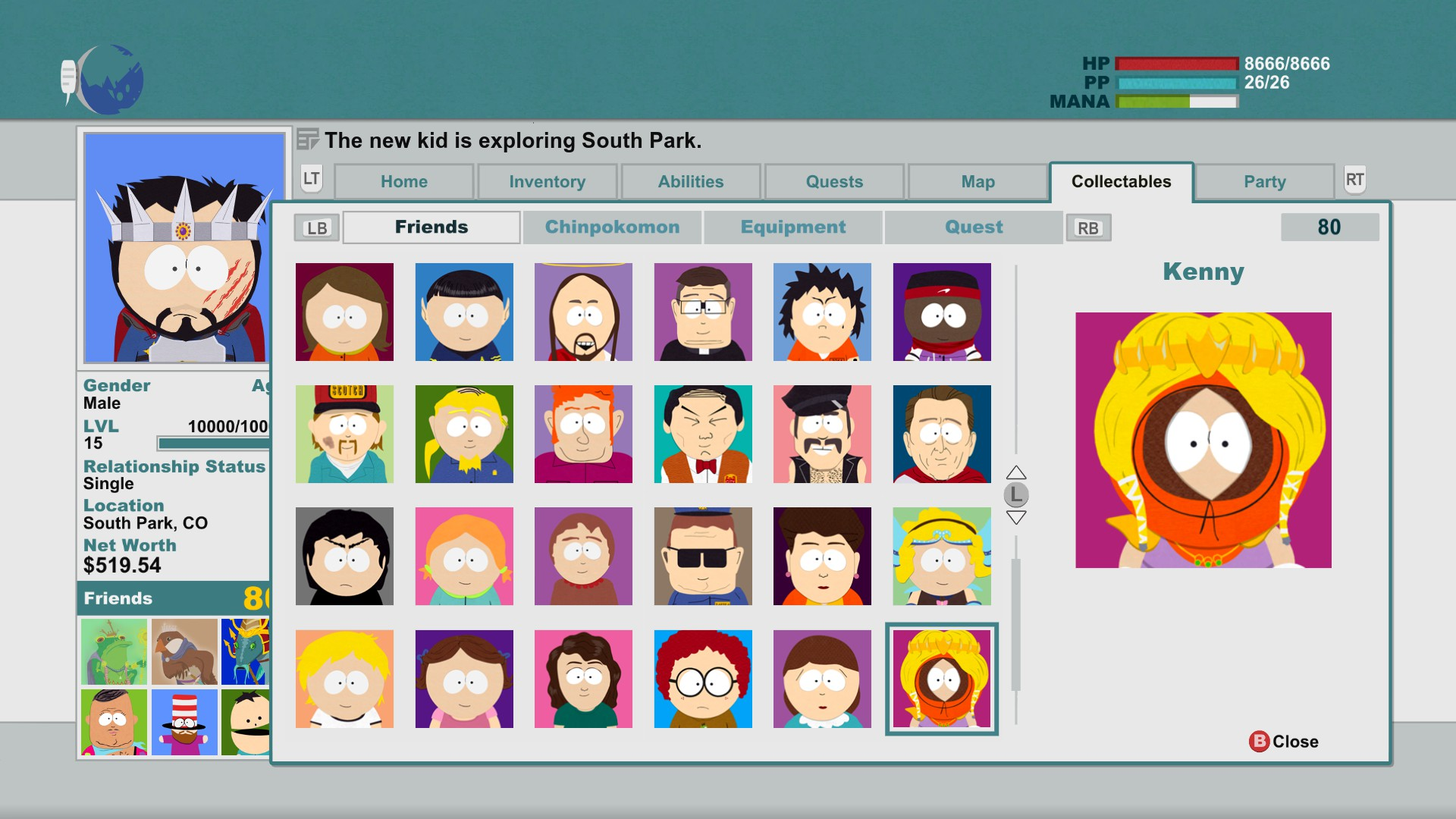 South Park: The Stick of Truth | Facebook