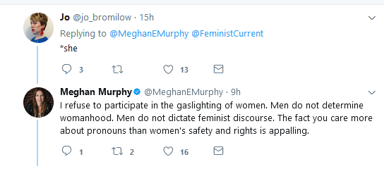 Meghan Murphy | Gaslighting