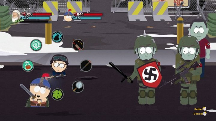 South Park: The Stick of Truth | Nazi zombies