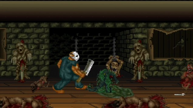 Splatterhouse | Stage 2 gore