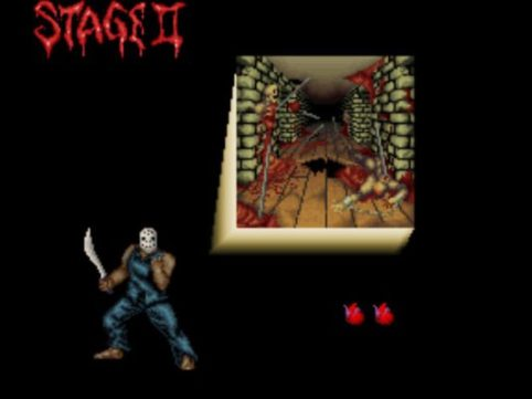 Splatterhouse | Stage 2 intro