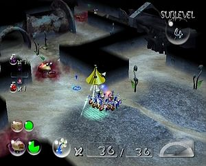 Pikmin 2 | Submerged Castle