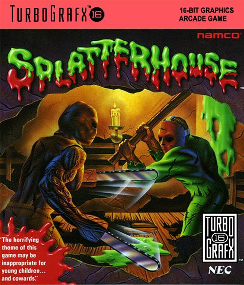 Splatterhouse | turbo grafx art