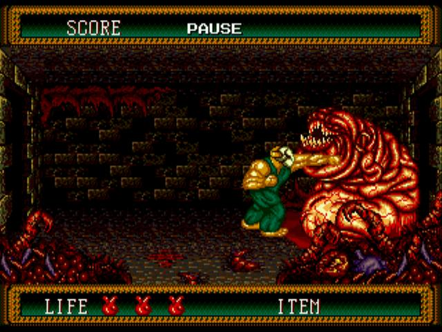 Splatterhouse 2 | First boss