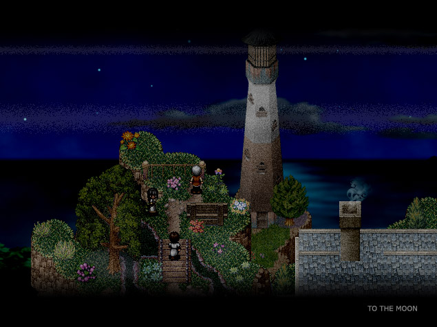To the Moon | lighthouse