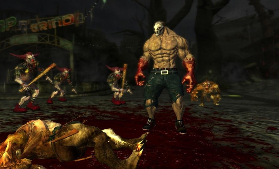Splatterhouse 2010 | Rick bloody hands