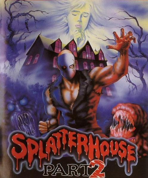 Splatterhouse 2 | Japanese Cover
