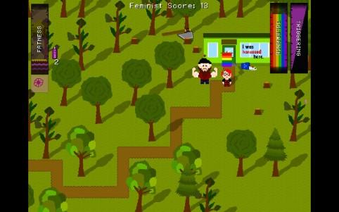 Feminazi: The Triggering   gameplay