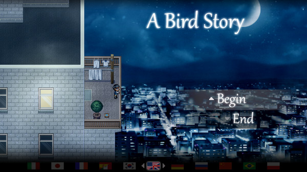 A Bird Story | title screen