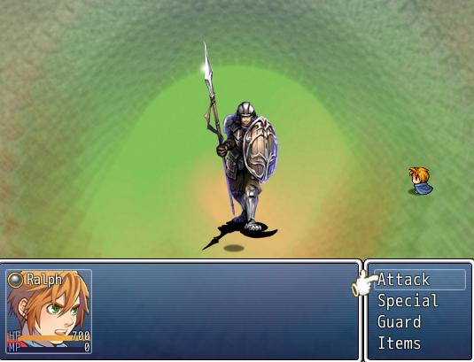 Final Quest II | battle image
