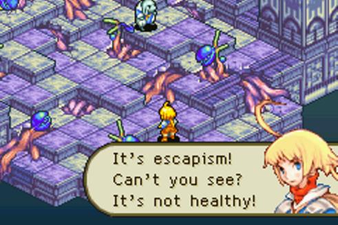 Final Fantasy Tactics Advance | escapism