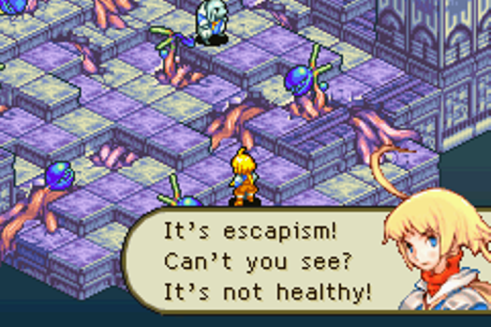 Final Fantasy Tactics Advance | escapism