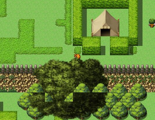 Final Quest II | Graphical glitch