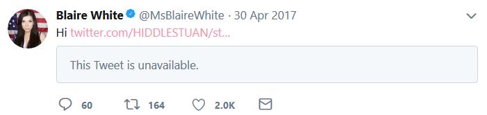 Blaire White | Hi