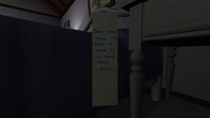 Gone Home | that's what she said