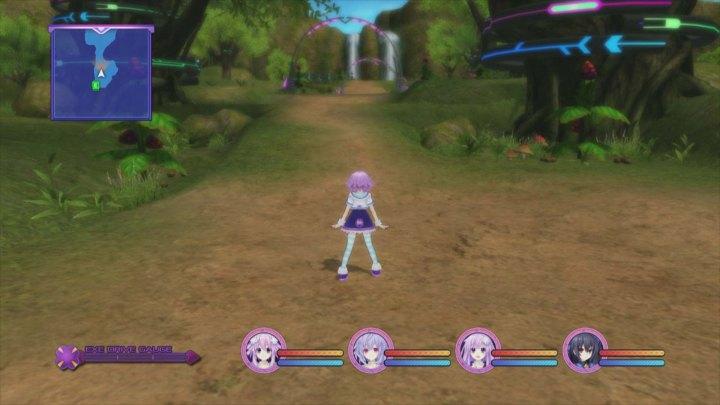 Hyperdimension Neptunia Victory | dungeon