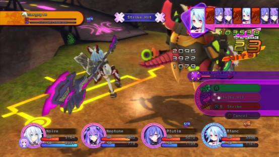 Hperdimension Neptunia Victory | Gargoyle