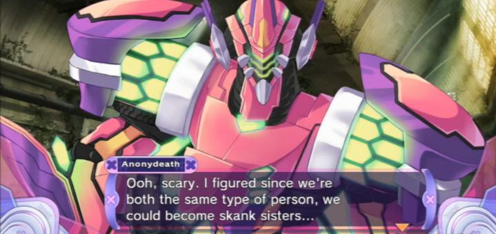 Hyperdimension Neptunia Victory | Skank Sisters