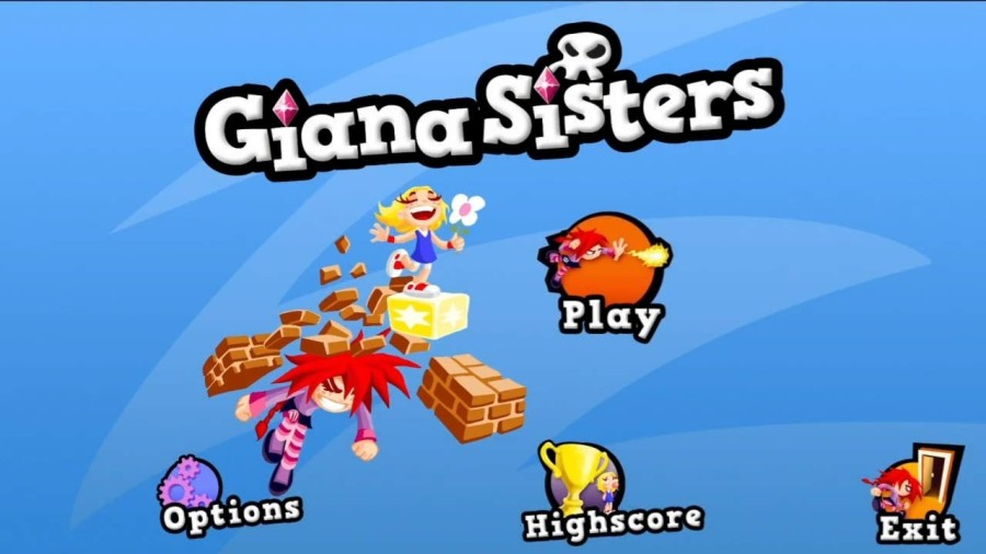 Giana Sisters 2D | Title Screen