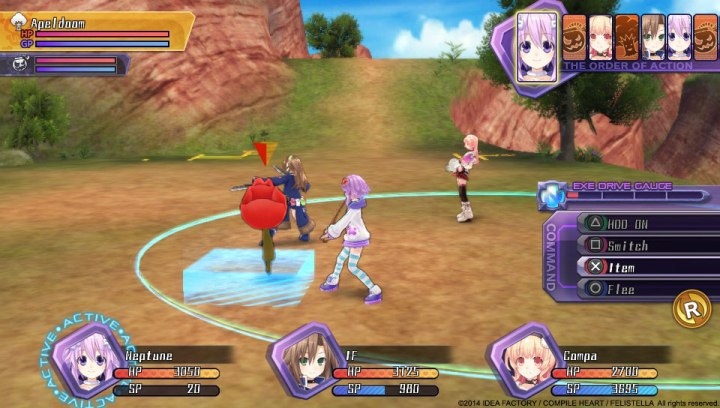 Hyperdimension Neptunia Re;birth1 | Apeldoom