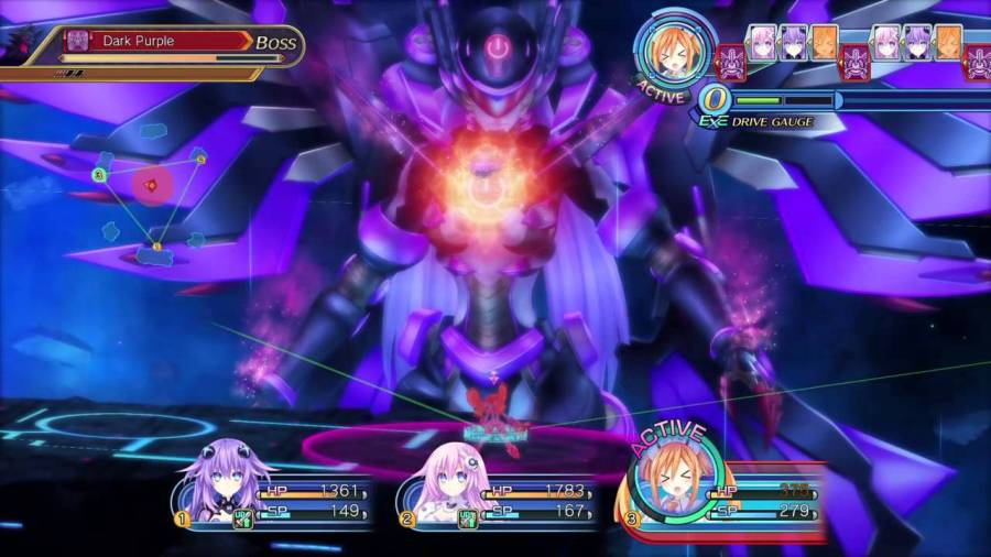 Megadimension Neptunia VII | Dark CPU