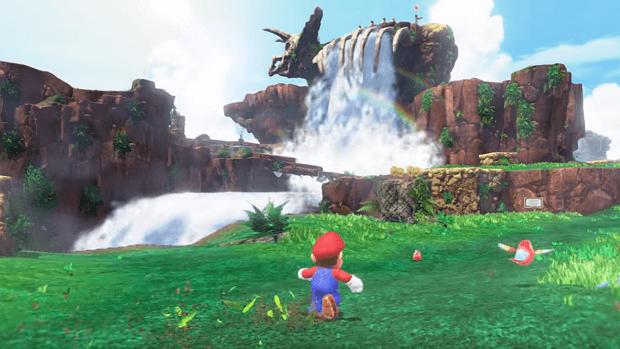 Super Mario Odyssey | Fossil Falls