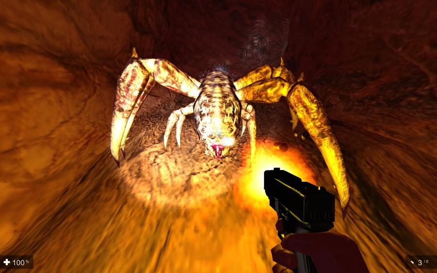 Gynophobia | giant spider