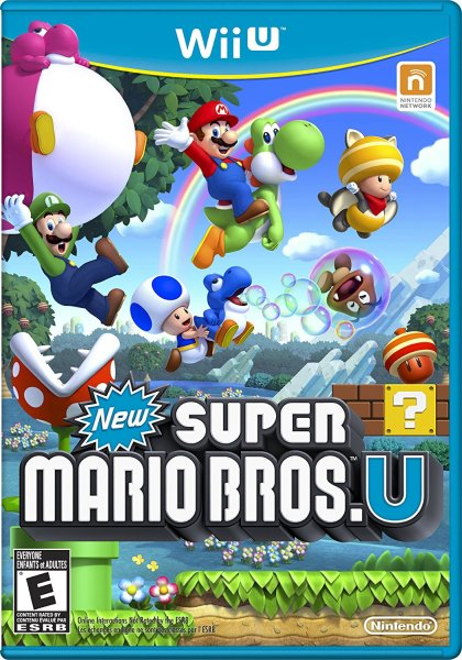 New Super Mario Bros U | Box Art
