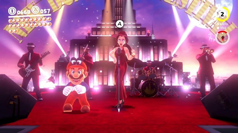 Super Mario Odyssey | Pauline Band
